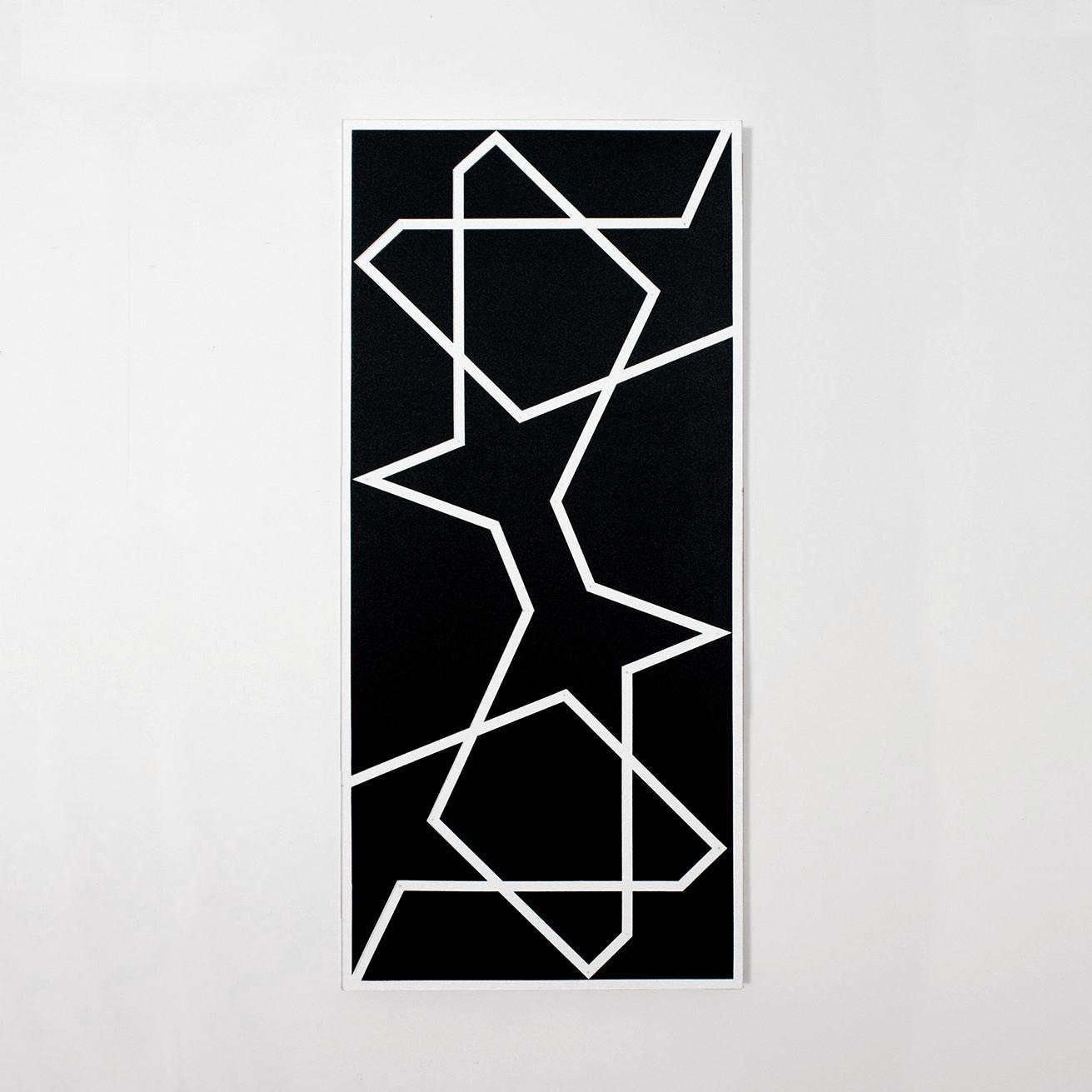 Topkapi XIV   2011. Acrylic on canvas. 60 x 25 in., 152.4 x 63.5 cm.