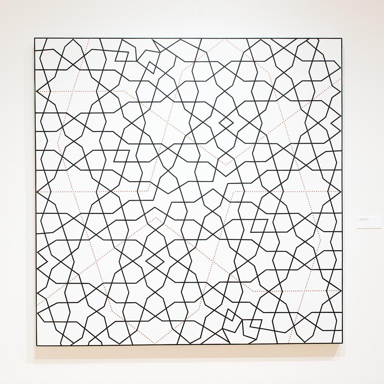 Topkapi XXI   2012. Acrylic on canvas. 72 x 72 in., 182.9 x 182.9 cm.