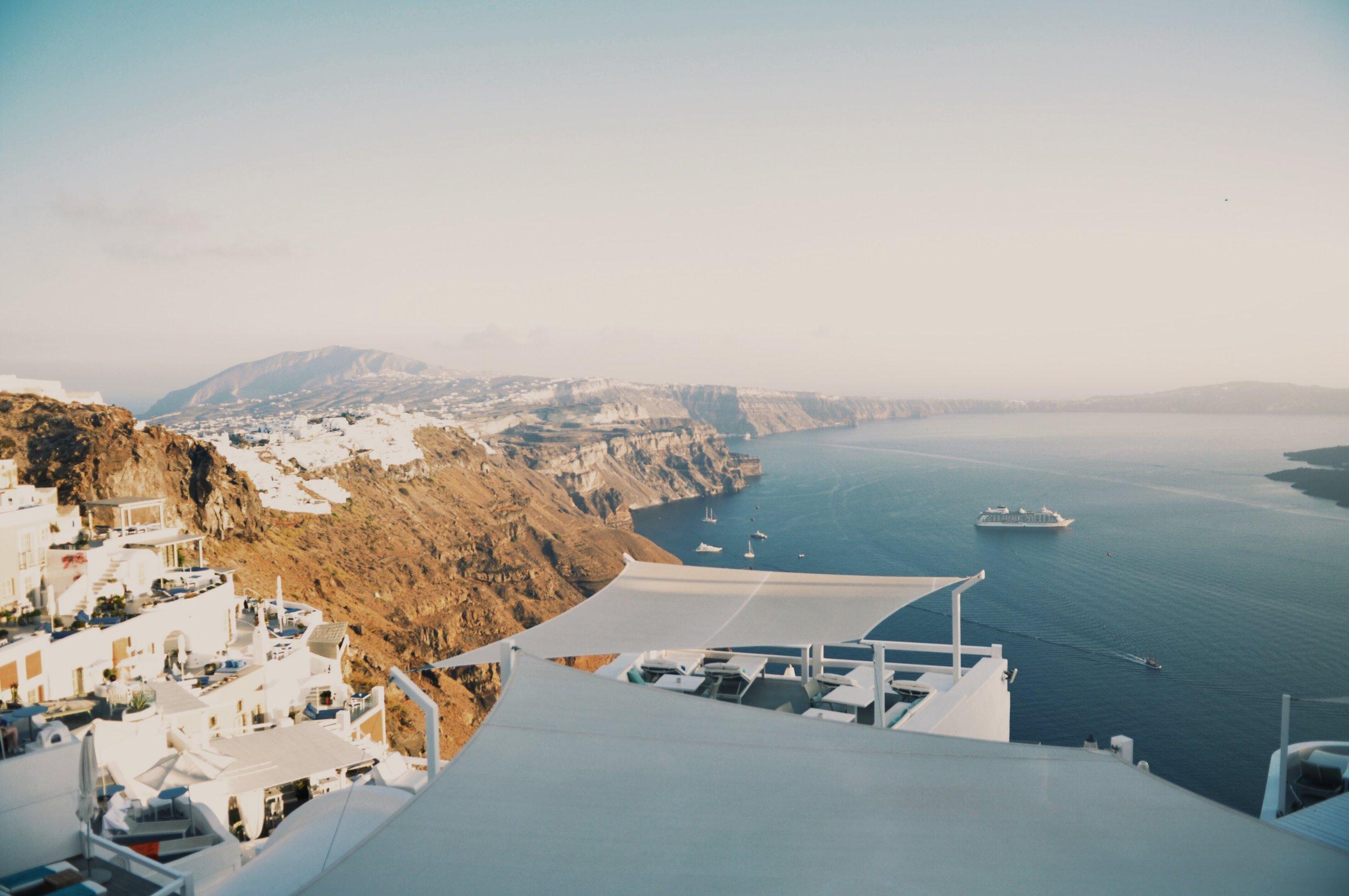 Imerovigli is a wonderful town in Santorini, Greece. Calm, beautiful,peaceful and romantic