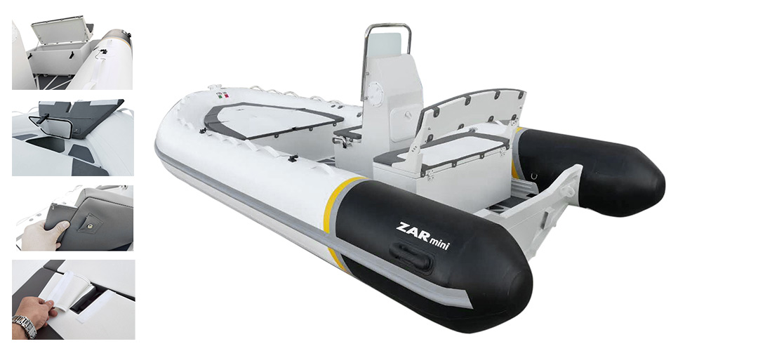 RIB 16SC - SPECIFICATIONSLength: 500 cmBeam: 224 cmNº Passangers: 10Maximum Power: 70 hp