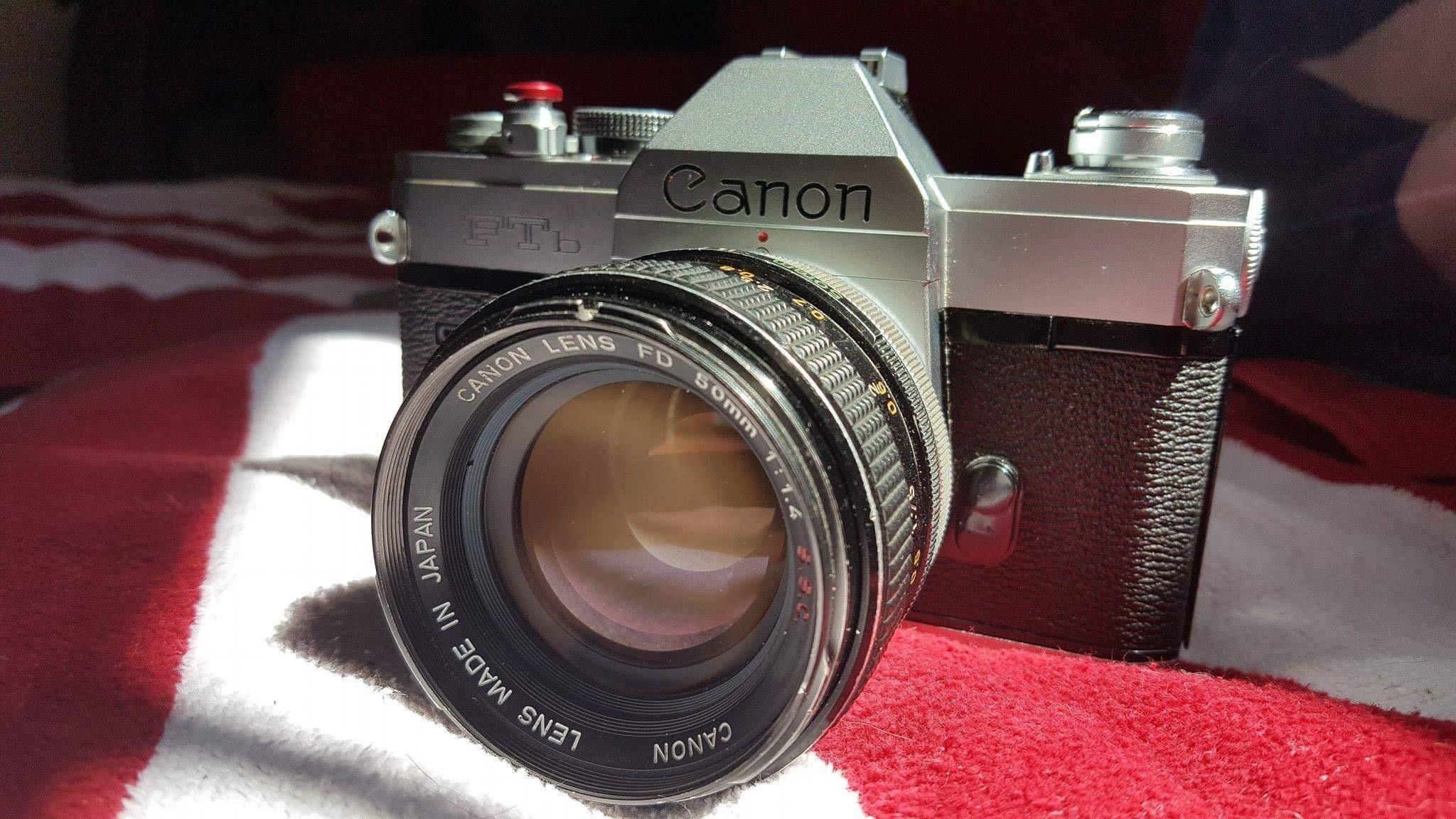 Canon FTB QL w/ 50mm F1.4 FD SSC