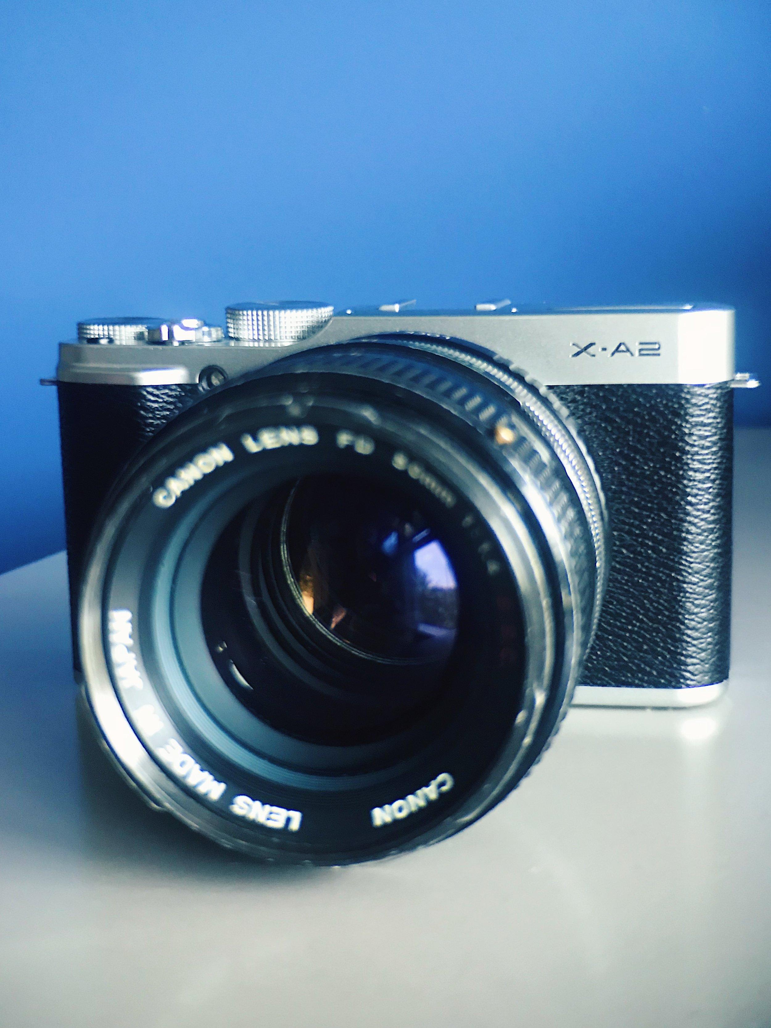 FUJI X-A2 Mirrorless Camera