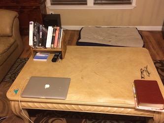 After bookshelf