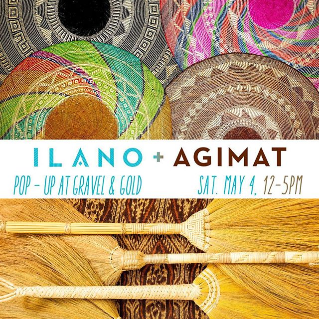 Bay Area Friends! I'm so excited to be teaming up with @agimat_home for a spring pop-up at @gravelandgoldsf this Saturday from 12-5! You don't want to miss our curated collection of handmade wares from the Philippines and Mexico. Tag a friend!