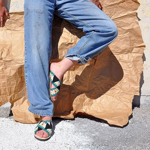 Step into spring like....and come see our new styles at our pop-up at @gravelandgoldsf this Saturday, 12-5. We'll have exclusive one of kind wares from the Philippines + Mexico with our friends @agimat_home . 📷 by @___noons