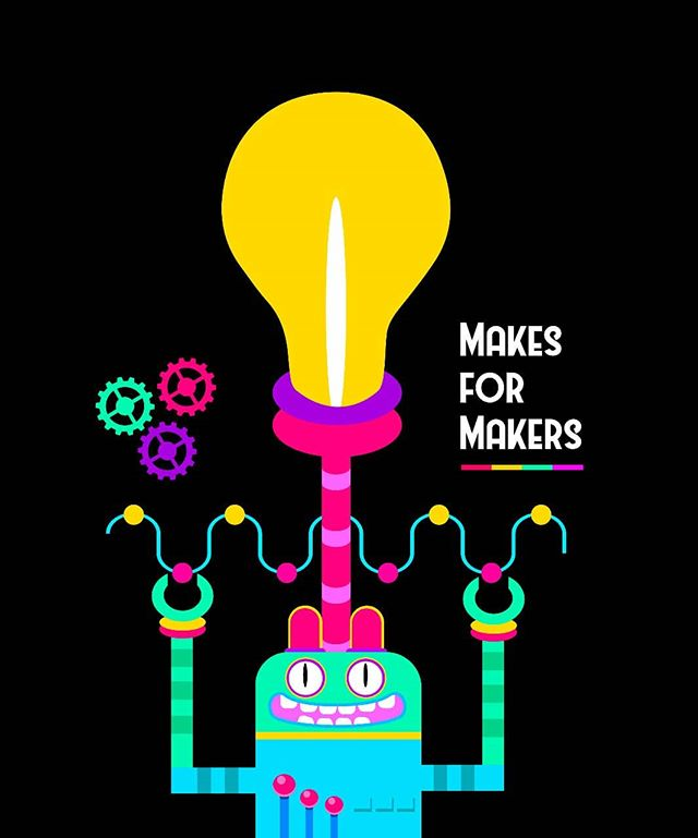 🔥🔥 Love Makers 💖.. .  #raspberrypi #IoTforthepeople #lafabricaalegre #opensource #gpio #makersgonnamake #arduino #coding #internetofthings #lora #electronic #sensors #end2end #Loranga