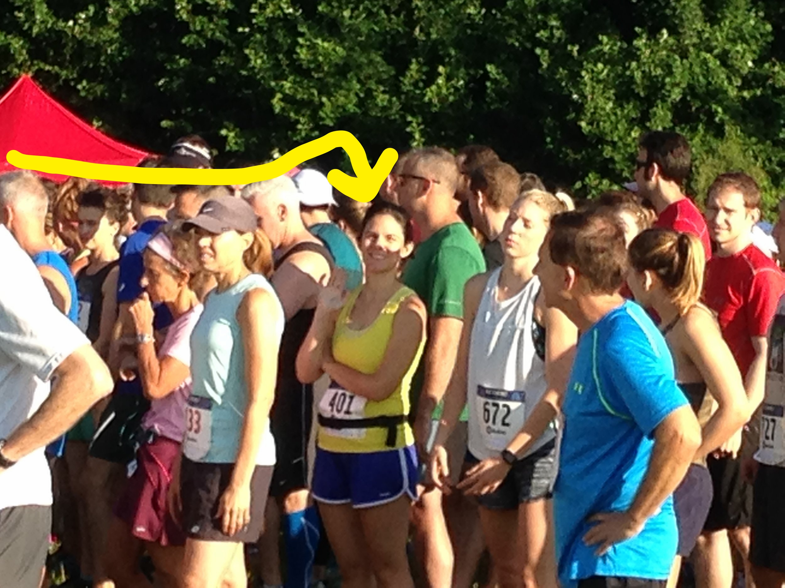 Me at my first (only?) 10K!