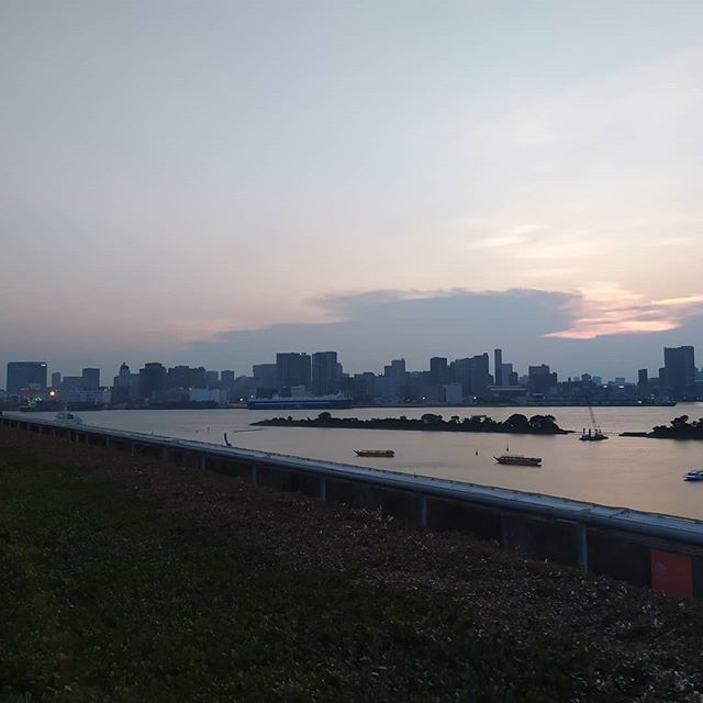 If you go to #odaiba this #sunmer do stop by #weberpark
