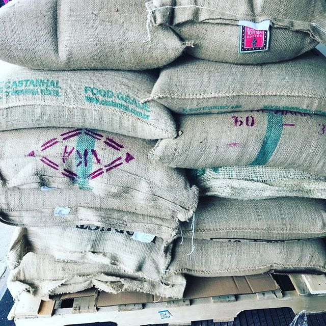 Bean delivery day   Christmas morning ☕️🤩😋 #deliveryday #coffeeroasters #organicroaster #downtowntc #tcroastingco #freshlyroasted #thirdwavecoffee #artisanroast