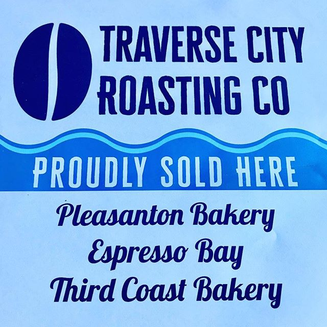 If you are a business looking for organic, locally roasted coffee message us to set up a wholesale account. We'd love to meet you! And a BIG thank you to our current partners! #tcroastingco #organicroaster #organiccoffee #tcmi #traversecity #handroasted #smallbatchcoffee