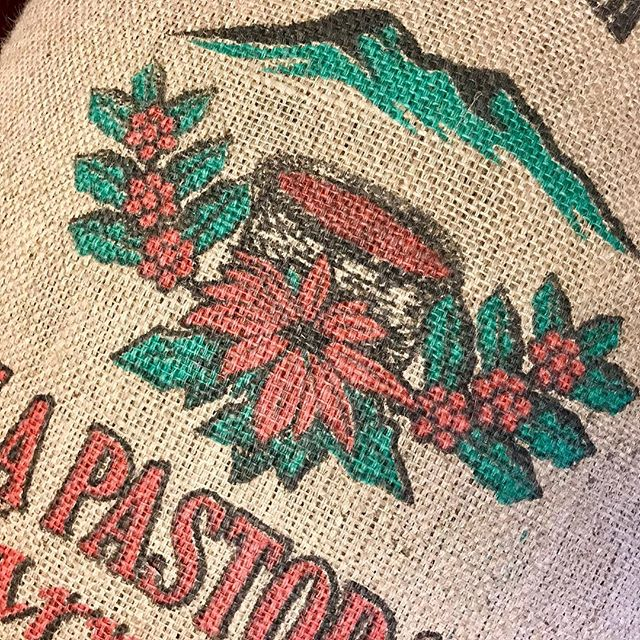 We love checking out bag designs on bean delivery day! This beauty comes to us straight from Costa Rica today! #puravida #localroaster #roasterslife #shopsmall #tcroastingco #organiccoffee #ethicallysourced #downtowntc #tcmi