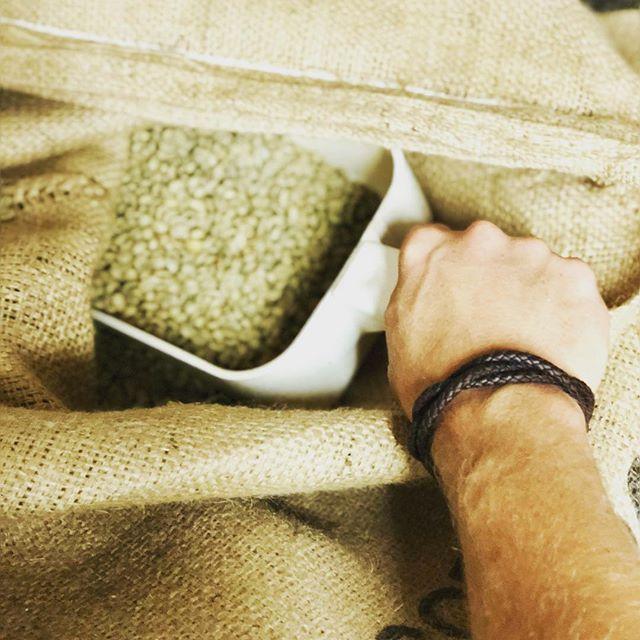 When you love what you do, every day feels like Christmas! #coffeeroaster #organicguatemala #organiccoffee #organicroaster #lifeinacoffeeshop #tcroastingco #traversecity #downtowntc #michigansmallbusiness