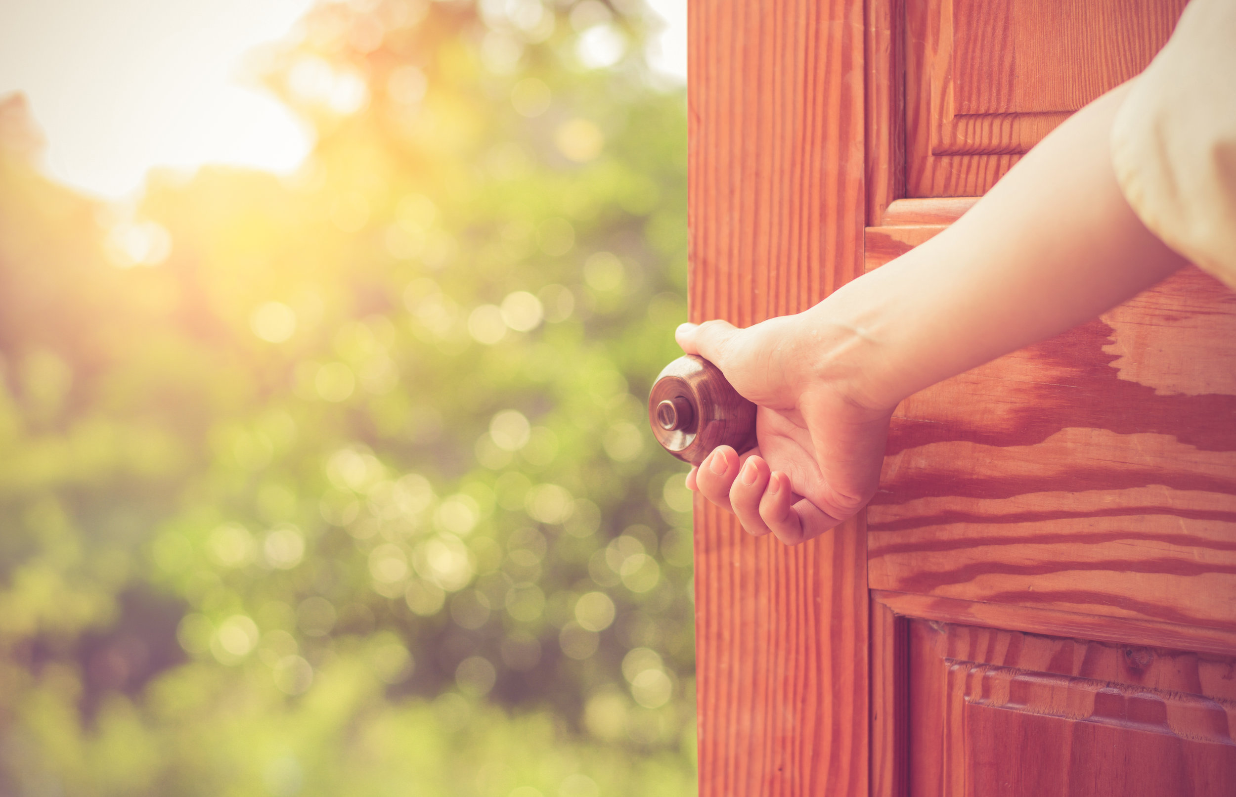 - Choose to open the door to your fullest potential.