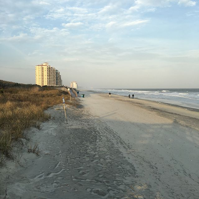 Sometimes work trips take me to real awesome places. You're real pretty, Myrtle Beach.