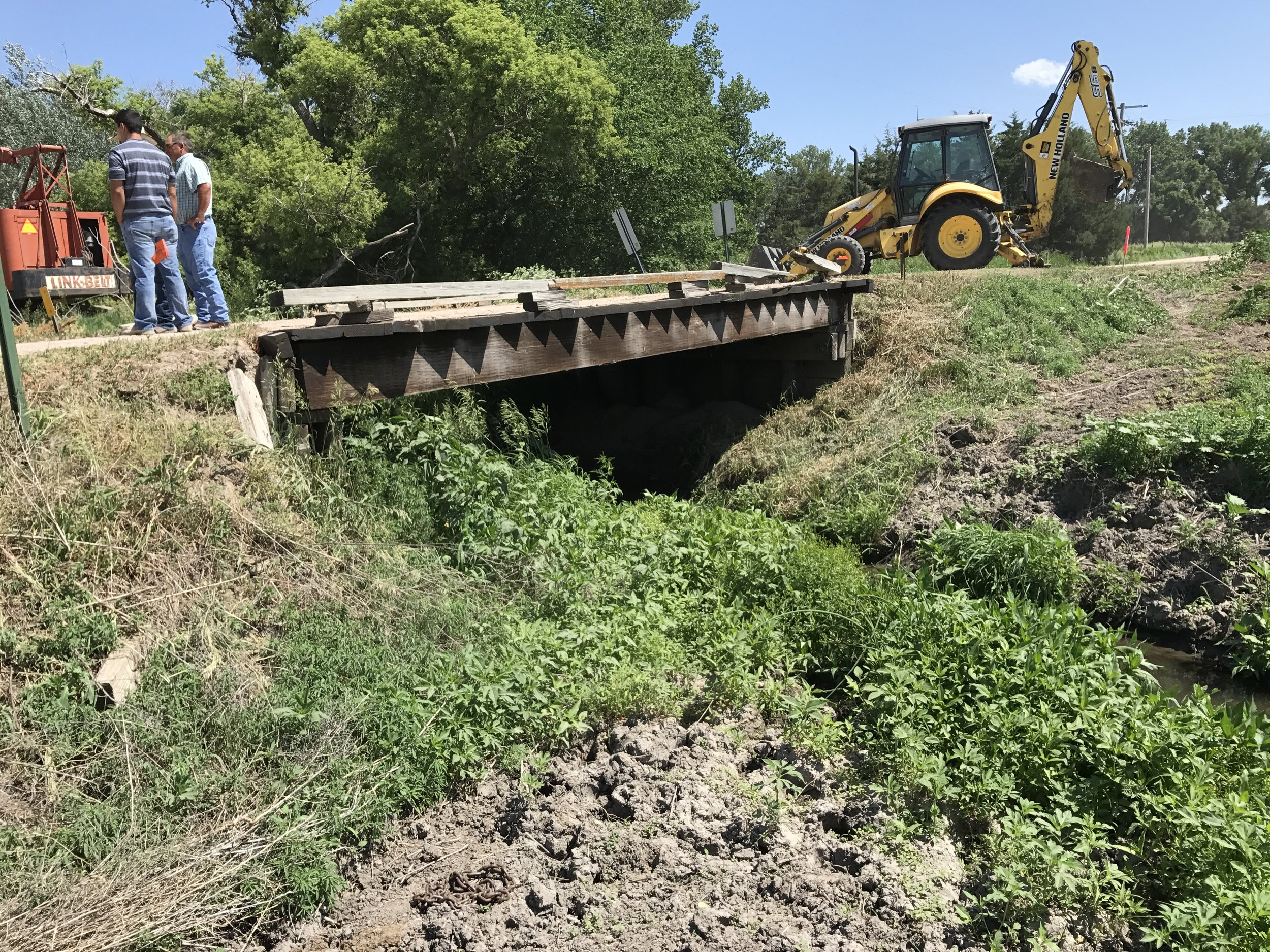 25-foot timber bridge to be replaced, Broken Bow NE