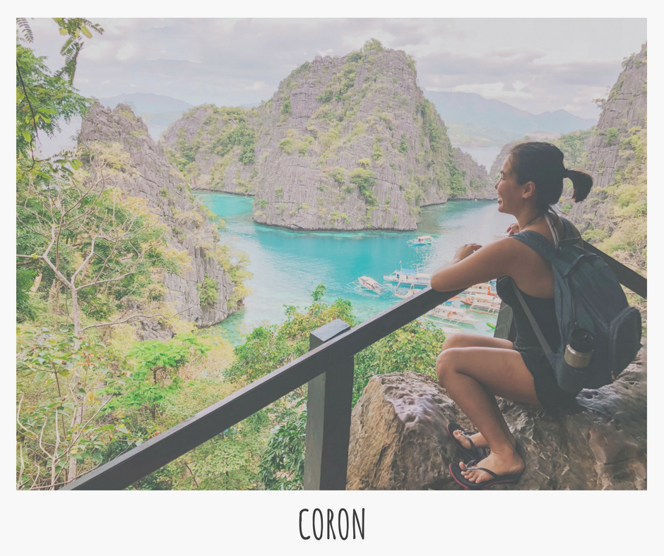 Adventure awaits in Coron (hiking, swimming, snorkeling)! Cap off the day w/ a natural salt water hot spring dip!