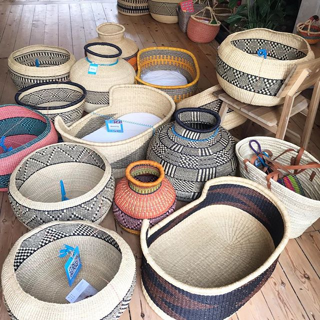 That's it folks! Last dispatch going out today while we move and settle in our new space and life. Hope to be bringing you more beautiful baskets soon. 🔸X🔸