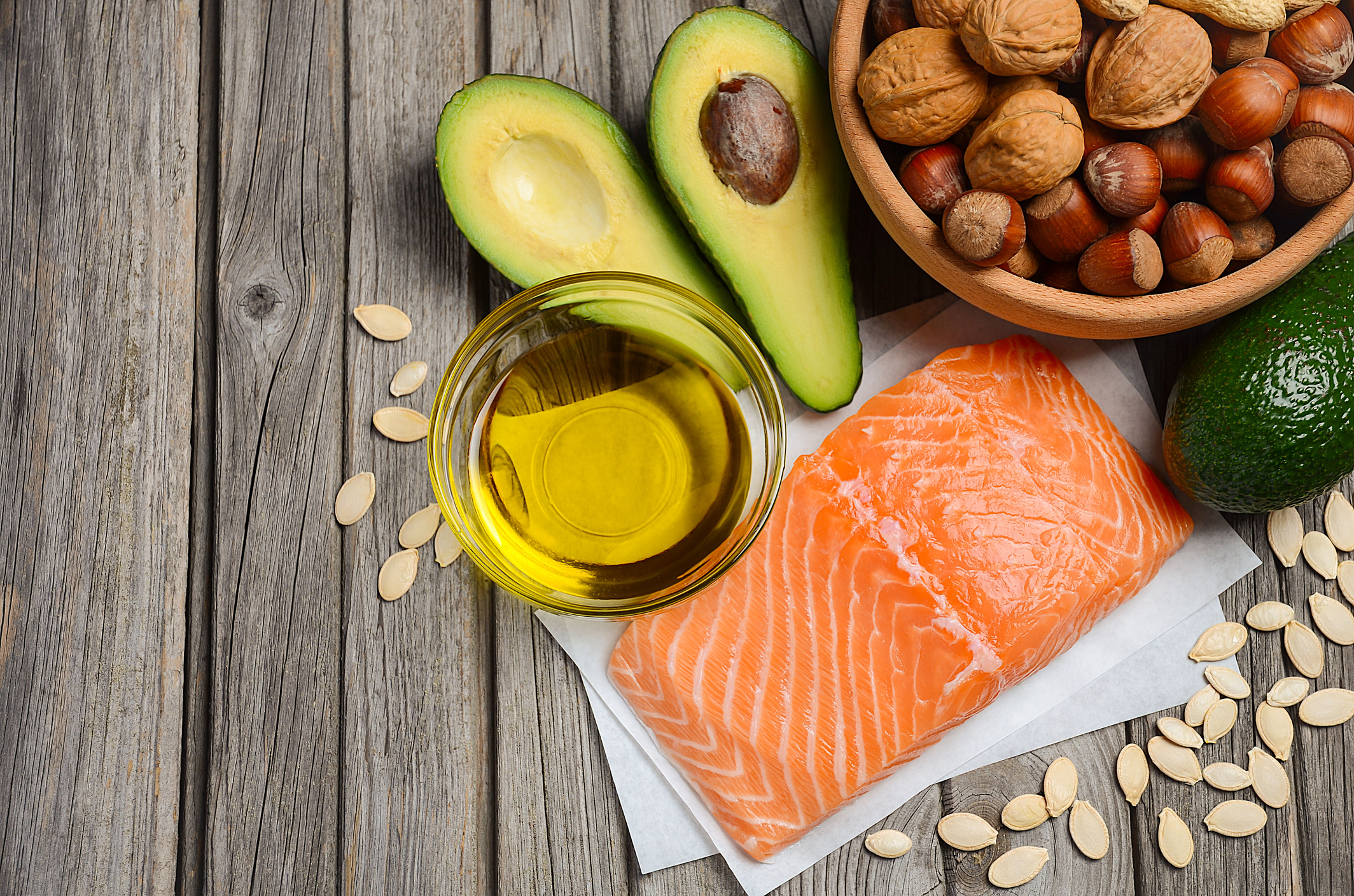 Healthy fats are featured in our Ketogenic Diet