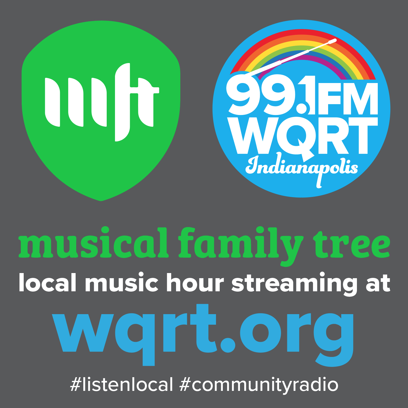 Local Music Hour by Musical Family Tree - Local non-profit and Indiana music archive spotlighting musicians, interviews, and events across Indiana.Stay tuned for new programming soon! Visit MFT's site here.