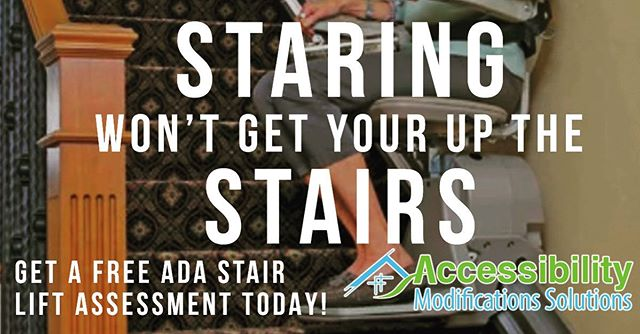 Get your #free #disability #stairlift assessment today at accessibilitymods.com !
