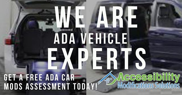 ♿ LINK IN BIO: Get your 100% #ADA #disability #car modifications from your local #experts #today!