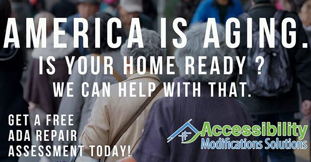 The US Census Bureau predicts that by 2030 1 in 5 US residents will be #retirement #age. Secure your #home for your future at accessibilitymods.com