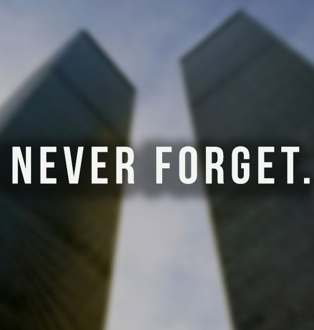 We will #neverforget #9/11, and the #brave #men and #women who gave their lives for our #freedom on that day and kept our #country safe now and always.