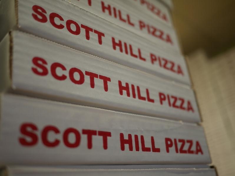 scott hill pizza box