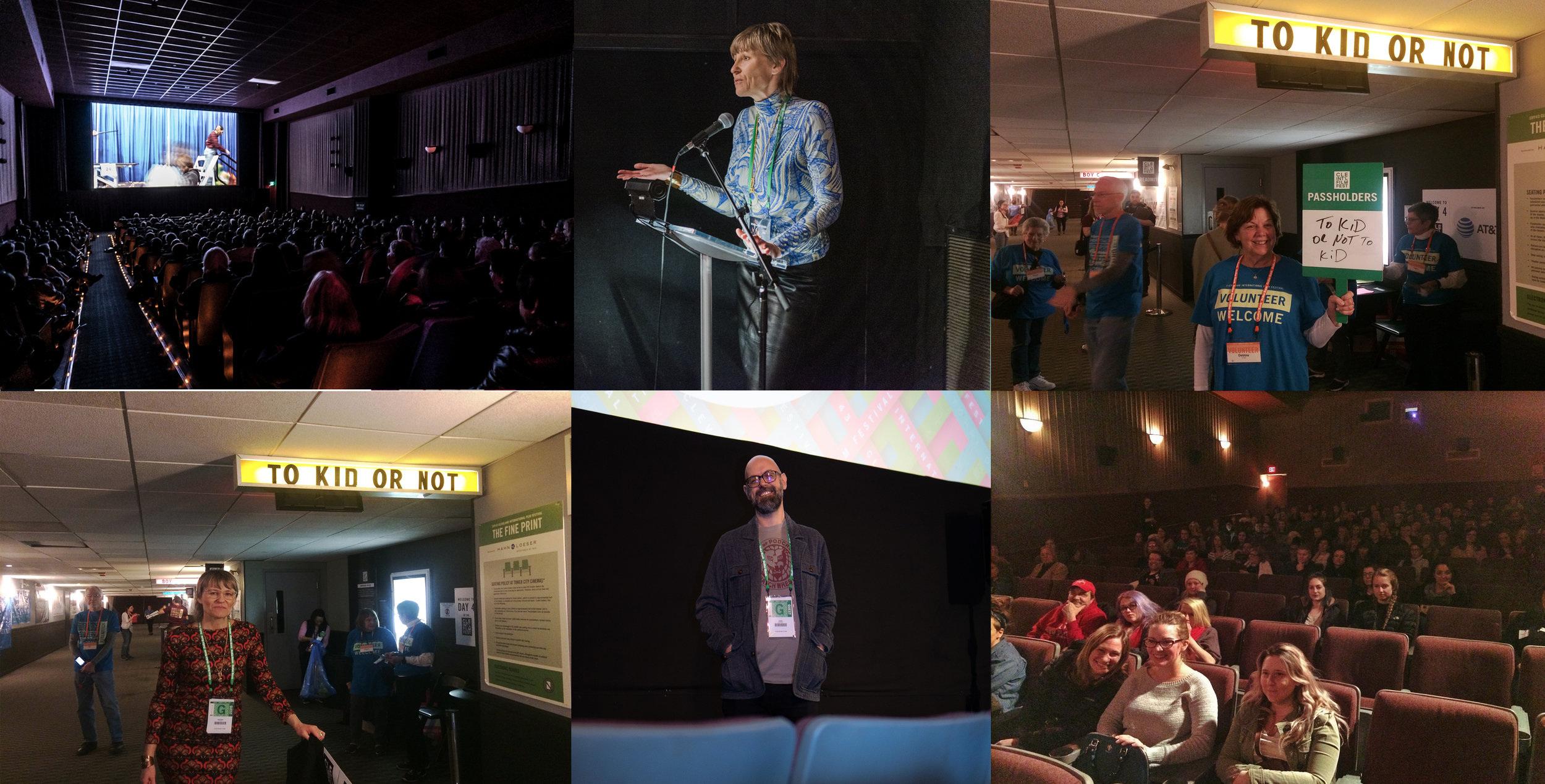 Cleveland film festival screening photos