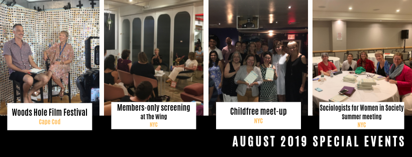 August childfree film screening events and more