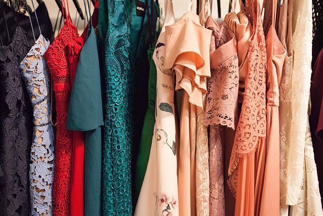 A rainbow to choose from 🌈🌈🌈 We always encourage our clients to go out of their comfort zone when renting. Your only gonna wear it once so might as well be daring and have fun! 📸 by @mads_robertson #montrealdressrental #luxurylending #designerdresses #atelierprivemtl