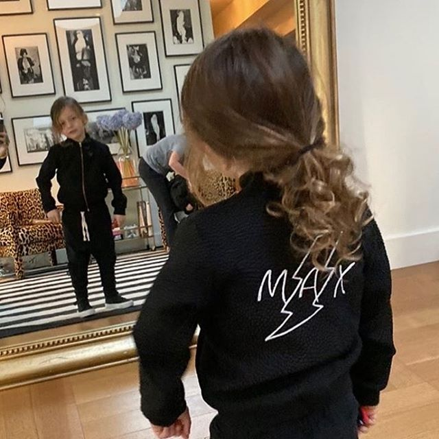 MAX ⚡️ custom bombers are for the boys too! Love this jacket we created for @tinamarieclark little dude.. . . . #custombomber #kidsbomber #kidsstyle #kidsfashion #mommyandme #madeinbrooklyn #laurengabrielson