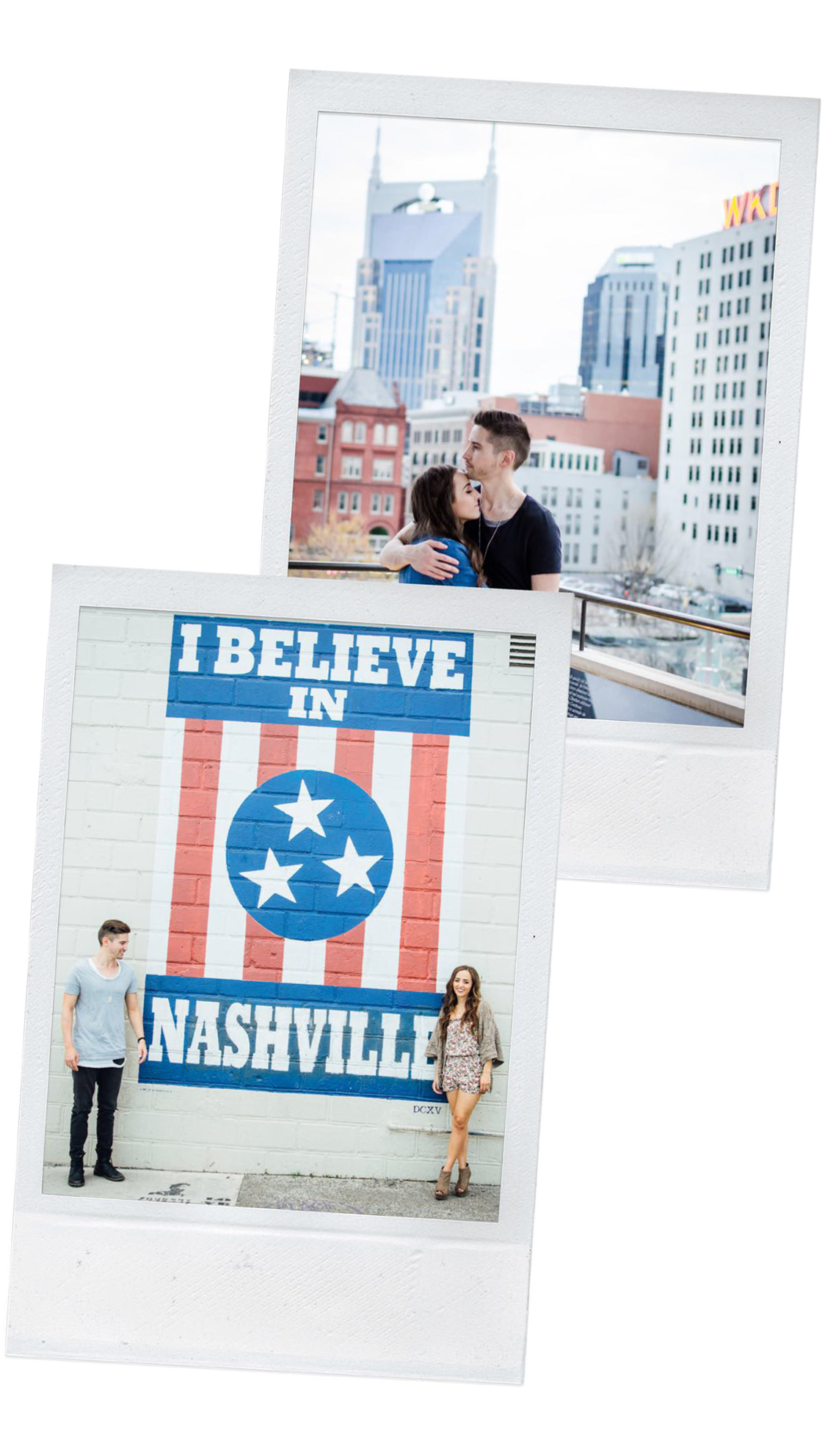 MOVING TO NASHVILLE - THE FIRST TIME I VISITED NASHVILLE, I (Noel) WAS 15. I HAD ALWAYS PLANNED TO MOVE AT SOME POINT, BUT IT NEVER FELT LIKE THE RIGHT TIME.EVENTUALLY, GOD MADE IT VERY CLEAR TO ME THAT I WOULDN'T MOVE TO NASHVILLE BEFORE I WAS MARRIED. I DIDN'T QUITE EXPECT HOW THAT WOULD PLAY OUT, BUT YOU KNOW. GOD HAS A WAY OF CHANGING OUR PLANS. Enter Glenn and the fastest year ever of dating - Engaged - married - NASHVILLE.