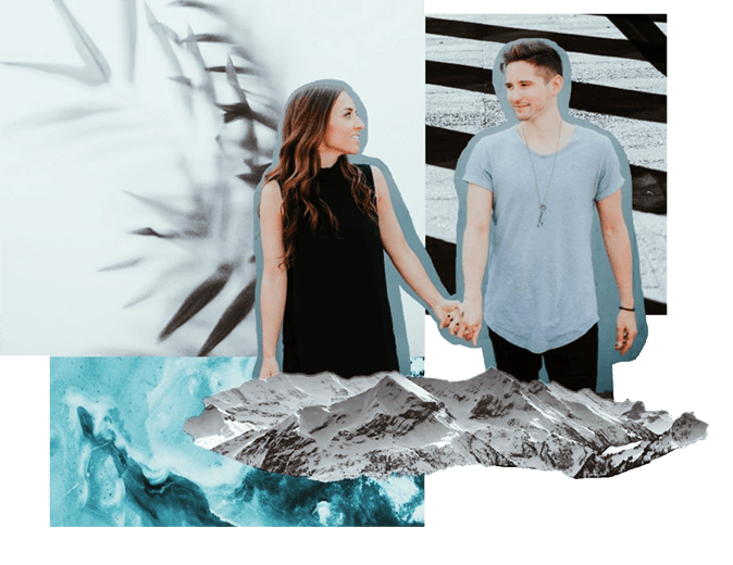 HI, WE'RE PIECES! - WE'RE A HUSBAND + WIFE WHO love Jesus AND travelING to lead worship together.OUR HEART IS TO SING boldly about God's faithfulness.TO LET GOD MAKE HIMSELF KNOWN IN A WAY THAT'S UNIQUE TO THE MOMENT HE MOVES among US... BECAUSE when He does it changes EVERYTHING.
