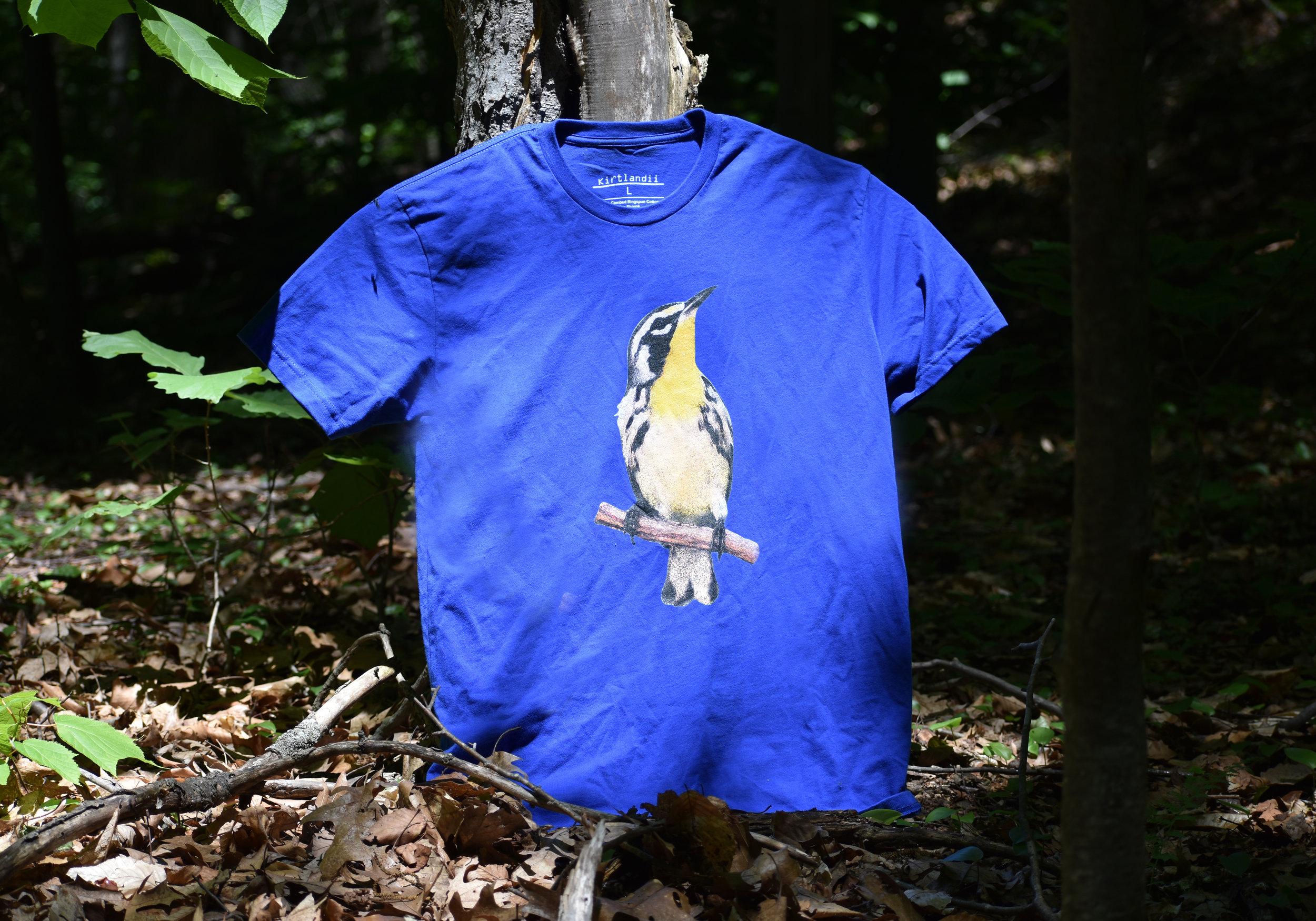 Yellow-Throated Warbler T-Shirt