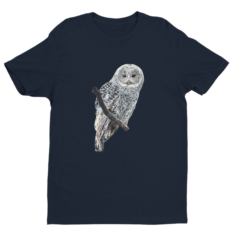 Barred Owl T-Shirt Navy