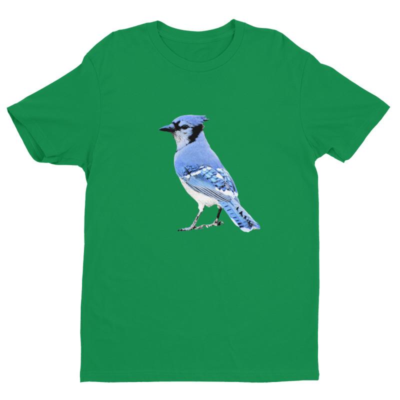 Blue Jay T-Shirt Kelly Green