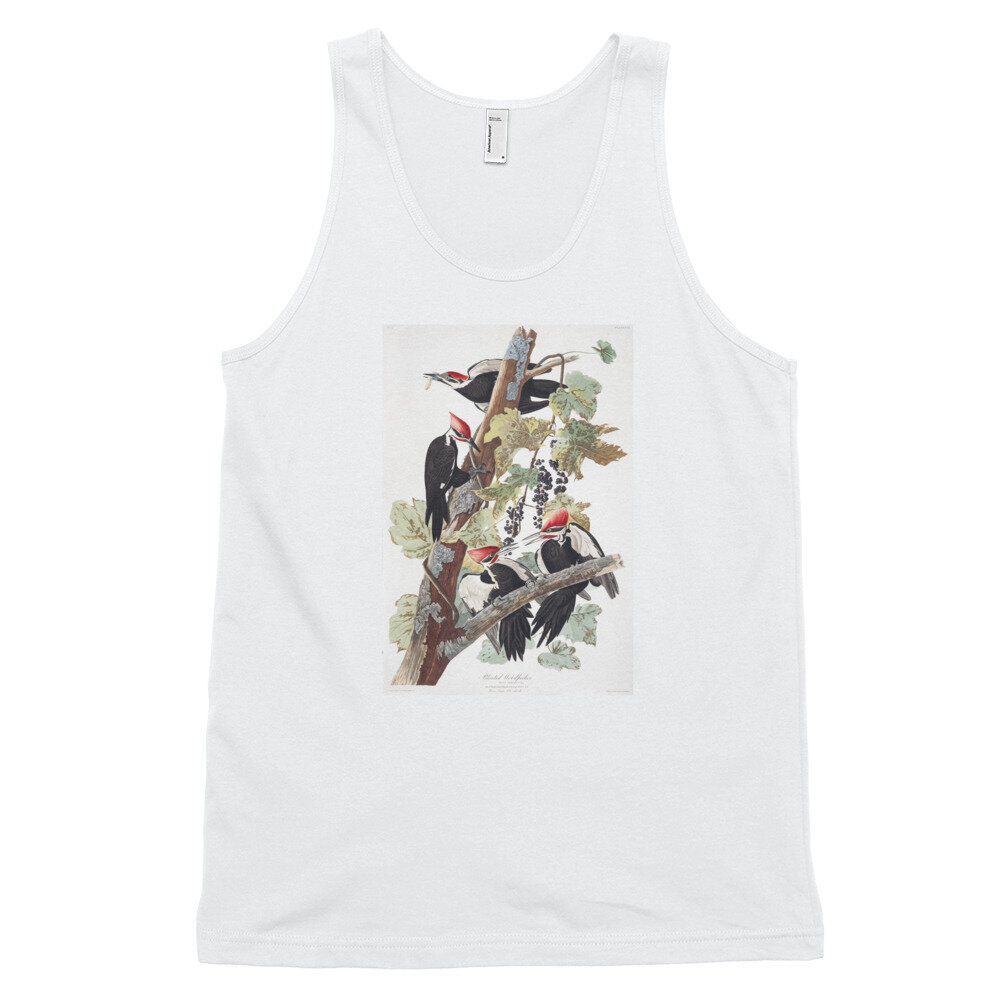 Pileated-Woodpecker-The-Birds-of-America,-Tank-Top_mockup_Front_Flat_White.jpg