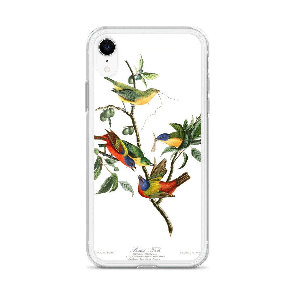 Painted-Bunting-Pileated-Woodpecker-The-Birds-of-America-iPhone-Case_mockup_Case-on-phone_Default_white_iPhone-XR.jpg