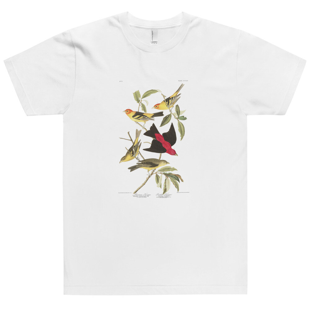 Western & Scarlet Tanager T-Shirt