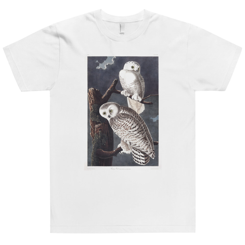 Snowy Owl T-Shirt: Click for More