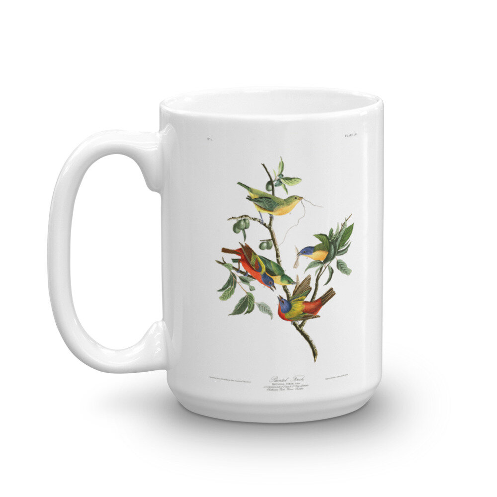 Painted Bunting Mug: Click for More