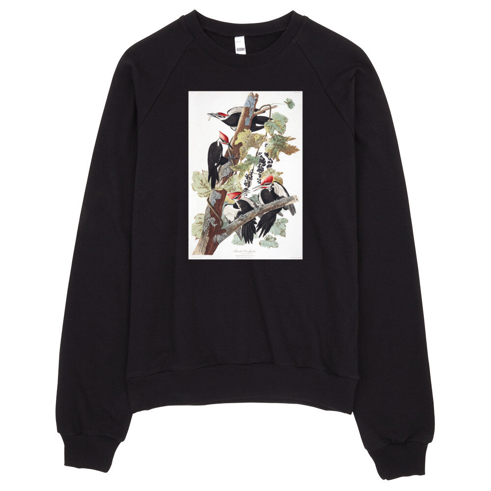 Pileated Woodpecker Sweatshirt: Click for More