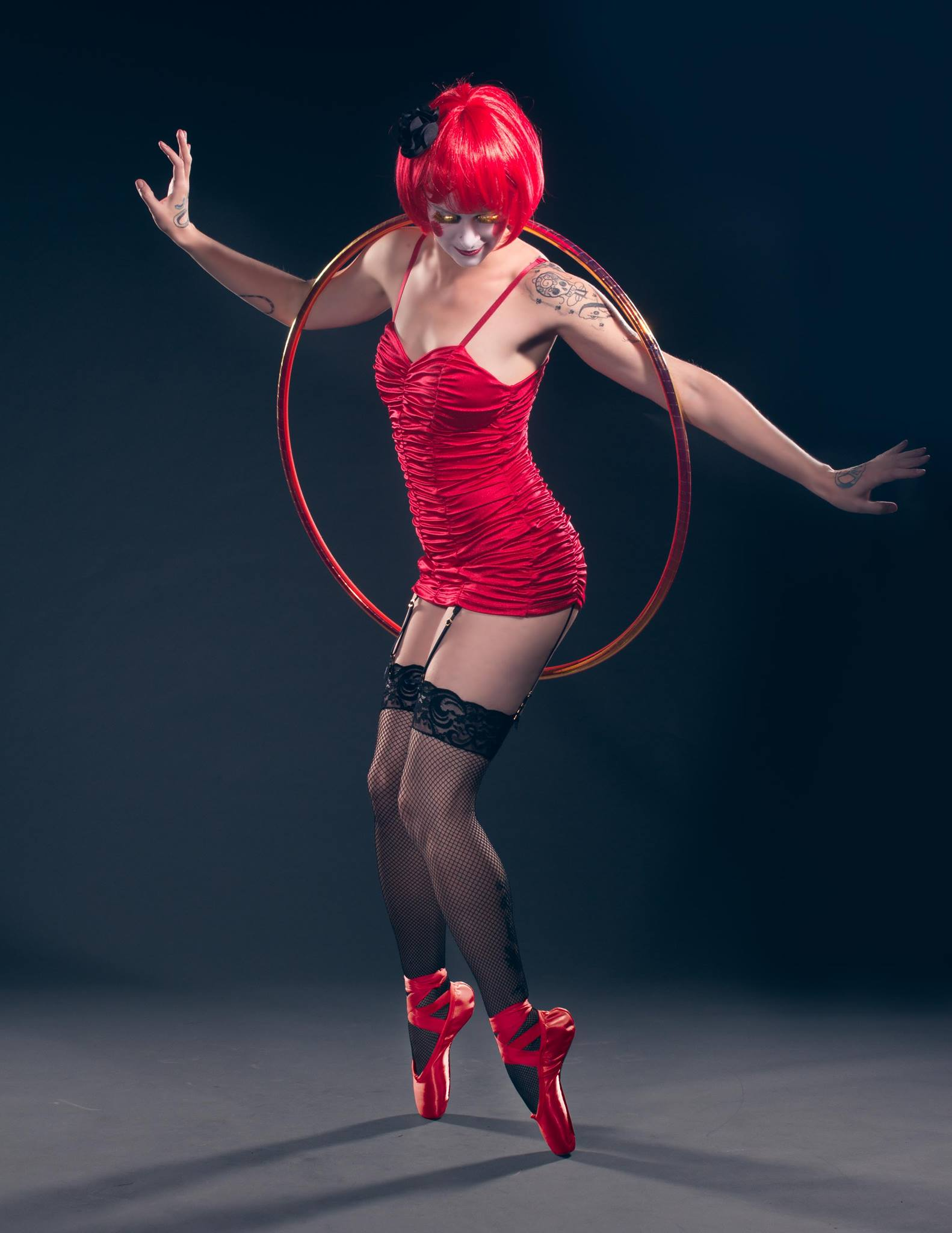 """Hooping Ballerina"""