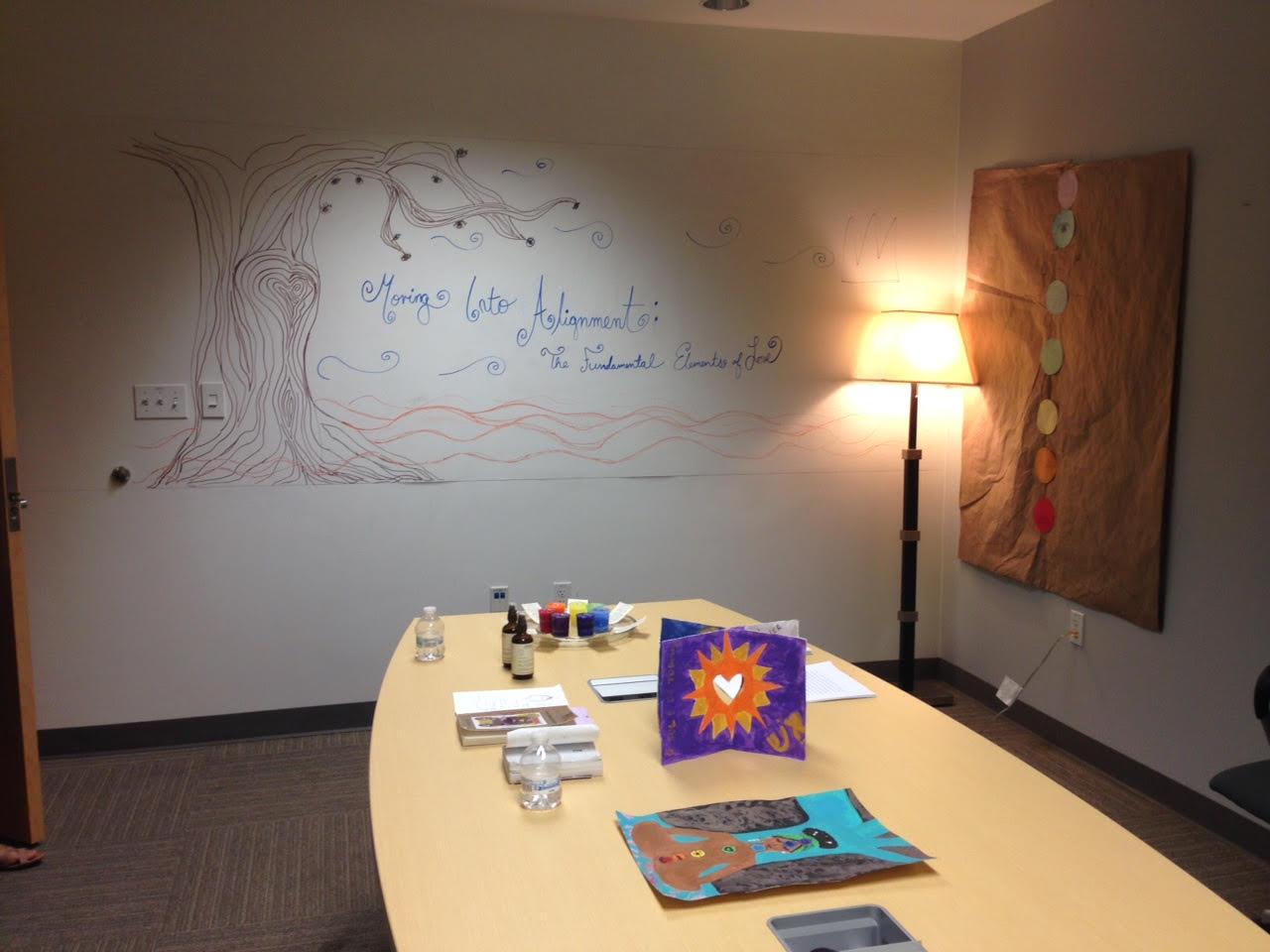 Moving Into Alignment Meditation Room