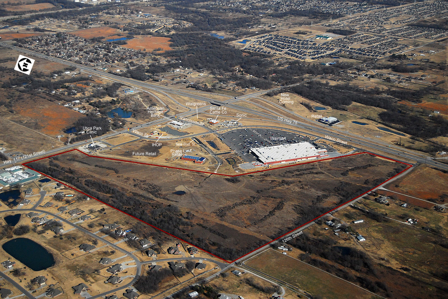 southwest crossroads-glenpool-aerial labeled .jpg