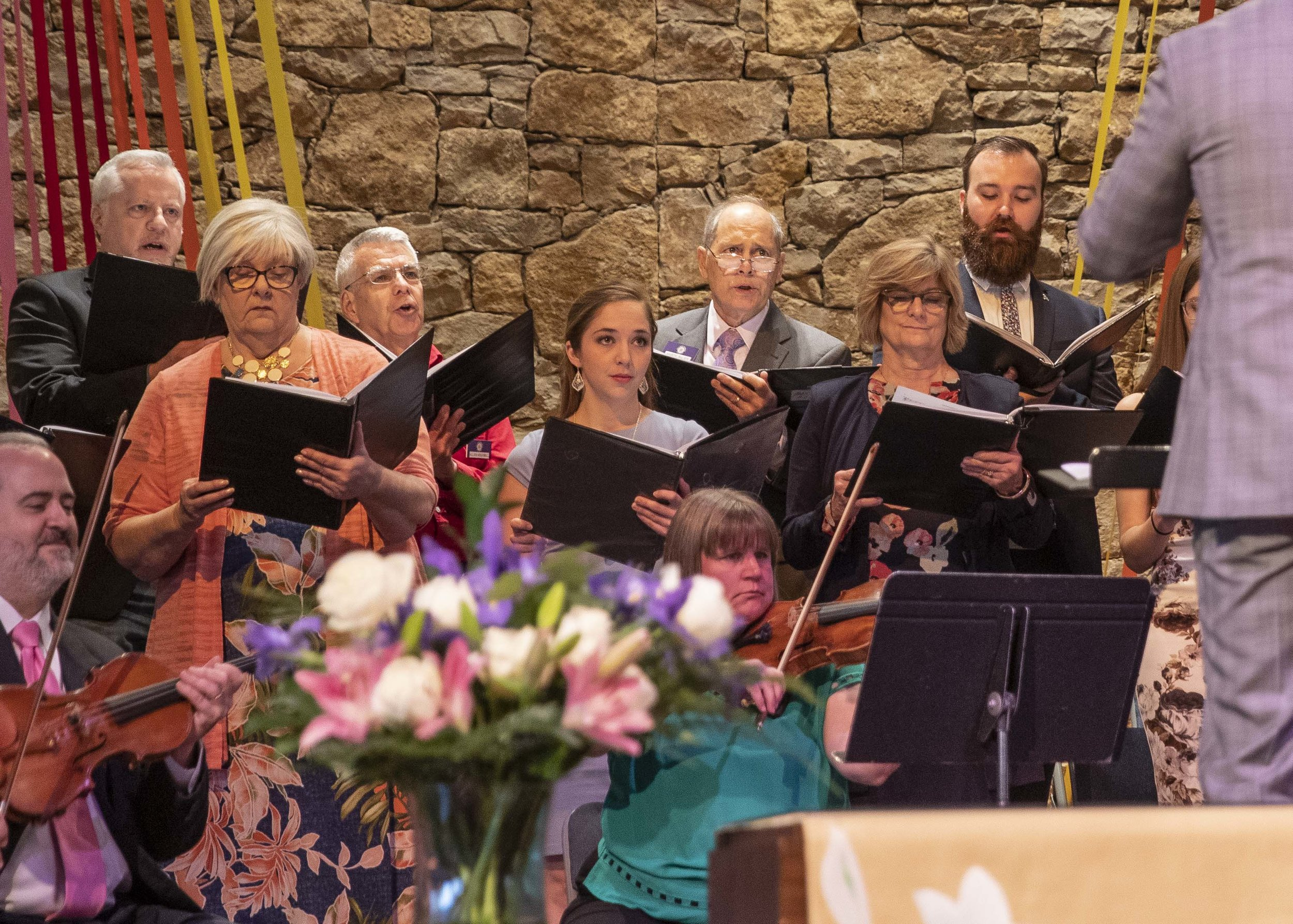 VOA Choir with orchestra - Easter 2019