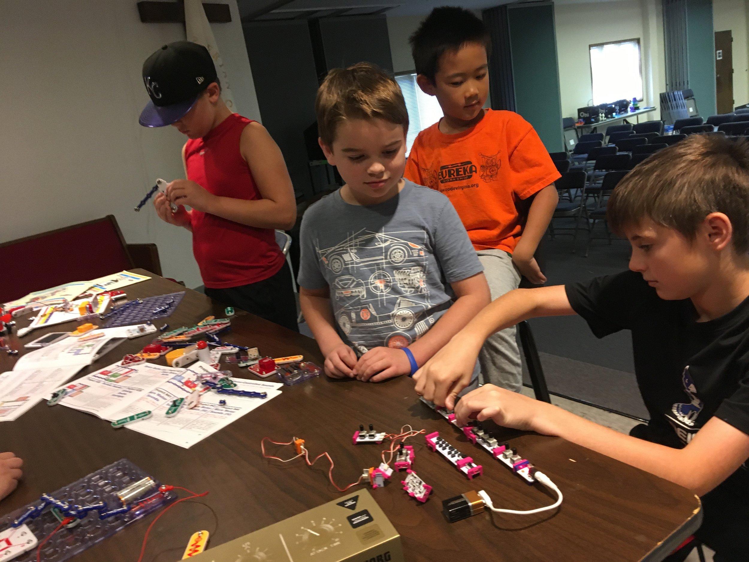 Short Circuit Robotics Camp
