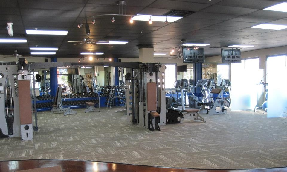 Completed gym remodel