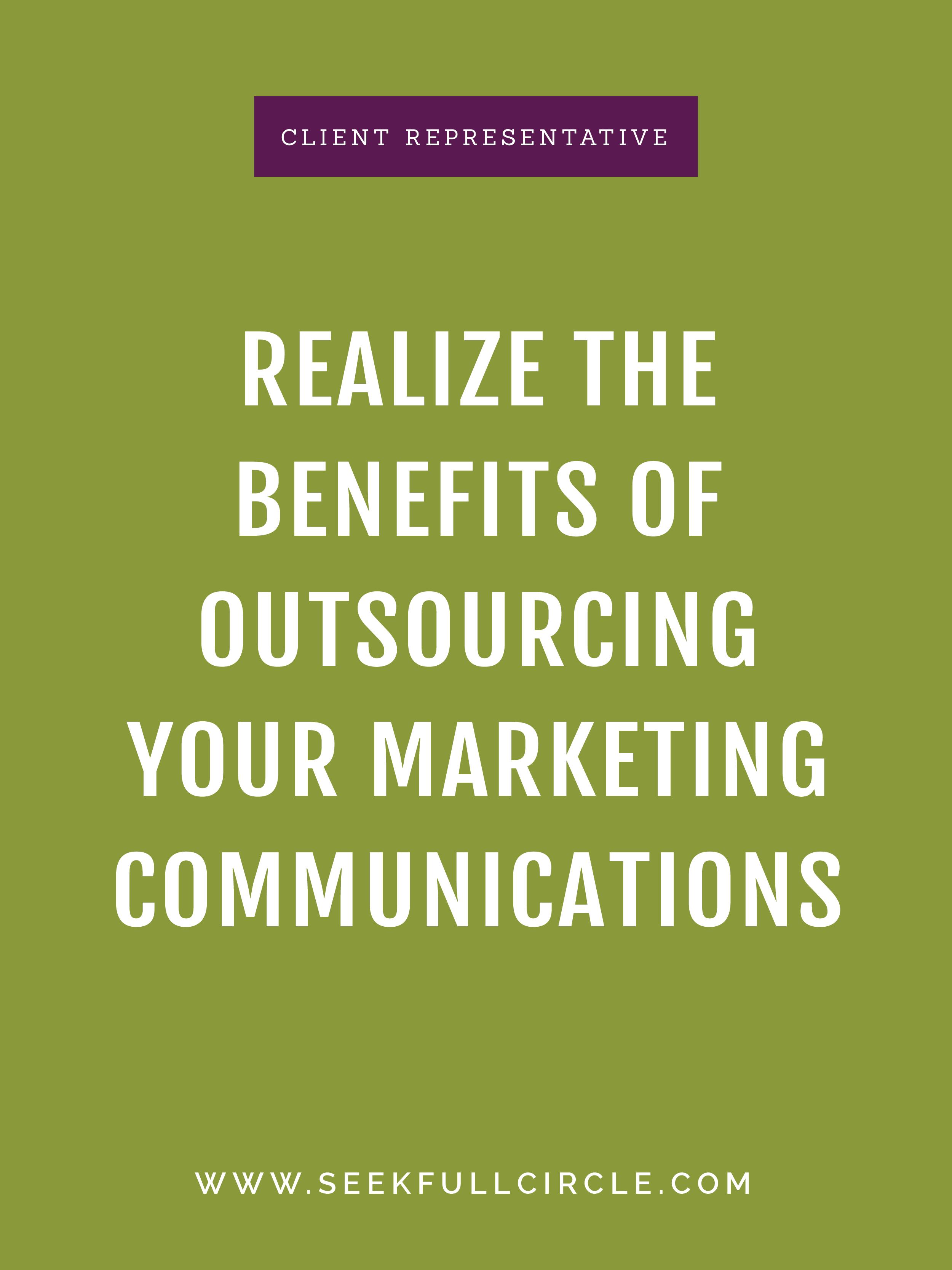 kim waltman fullcircle creative + coaching benefits of outsourcing marketing communication blog